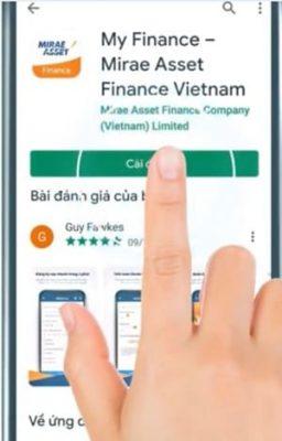 Hướng dẫn vay tiền qua ứng dụng MAFC