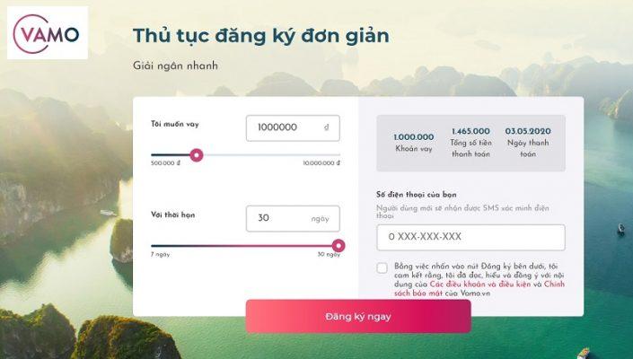 Hướng dẫn vay tiền tại Vamo – Nhận tiền trong vài phút
