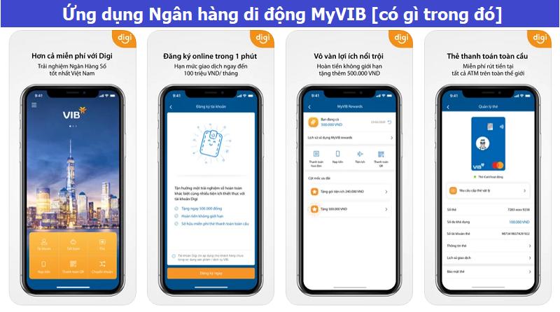 Ứng dụng Ngân hàng di động MyVIB [có gì trong đó]