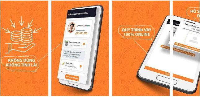 Ứng dụng MoneyTap - Vay Tiền Trả Góp - Powered by FE Credit
