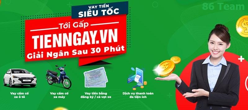 Cầm cố ô tô, xe máy trong 15 phút với Tienngay.vn