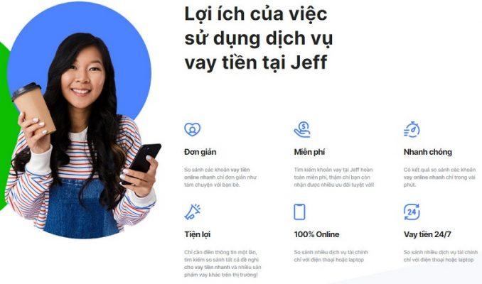 Giới thiệu dịch vụ vay tiền nhanh Jeff